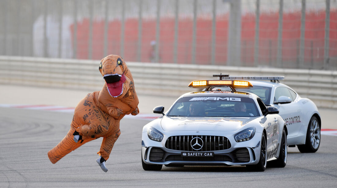 Safety-Car - Formel 1 - GP Bahrain 2018