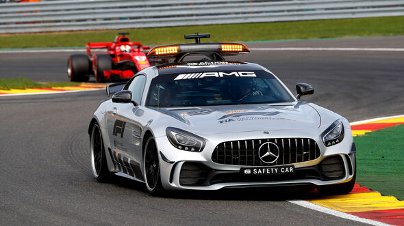 Safety-Car - Formel 1 - GP Belgien 2018