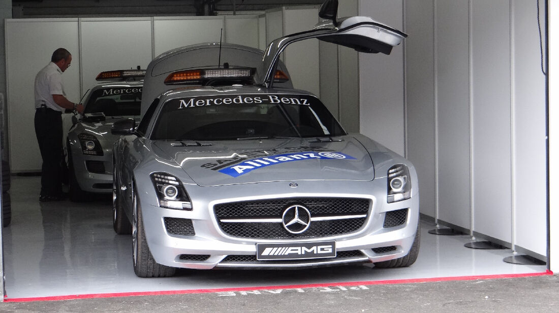 Safety Car - Formel 1 - GP Deutschland - 19. Juli 2012