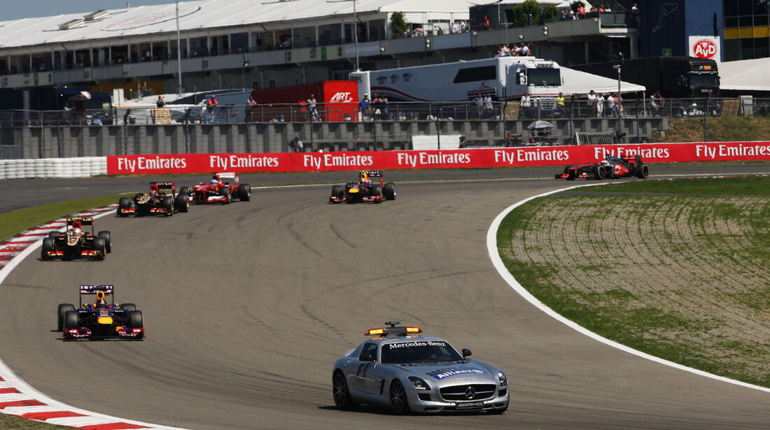 Safety-Car - Formel 1 - GP Deutschland 2013
