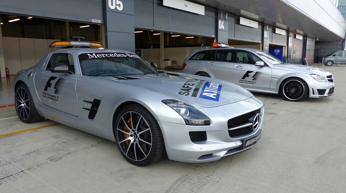 Safety-Car - Formel 1 - GP England - Silverstone - 3. Juli 2014