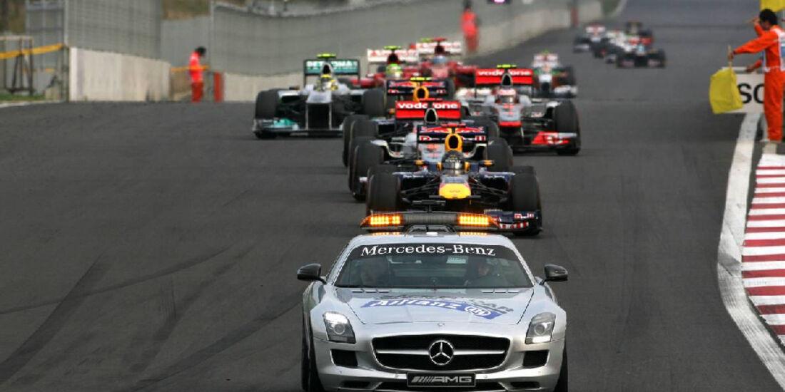 Safety Car - Formel 1 - GP Korea - 16. Oktober 2011