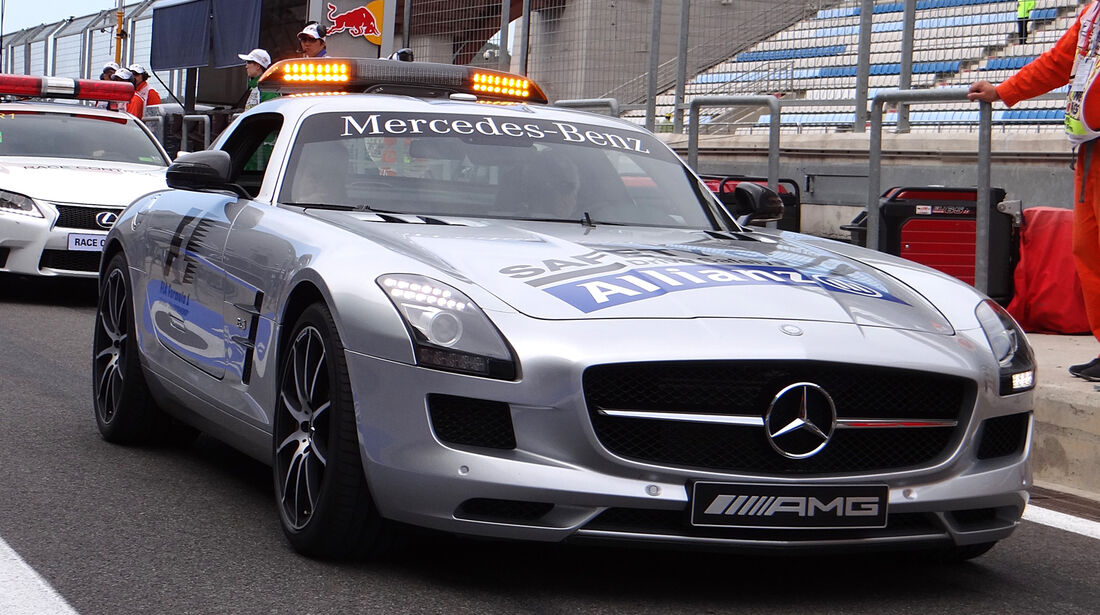 Safety-Car - Formel 1 - GP Korea - 5. Oktober 2013