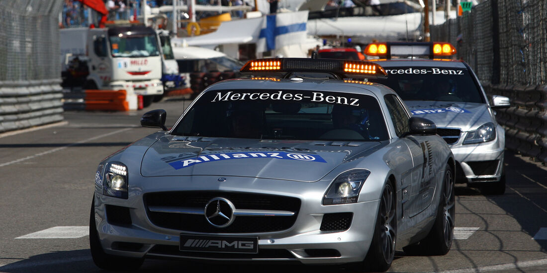 Safety Car - Formel 1 - GP Monado - 24. Mai 2012