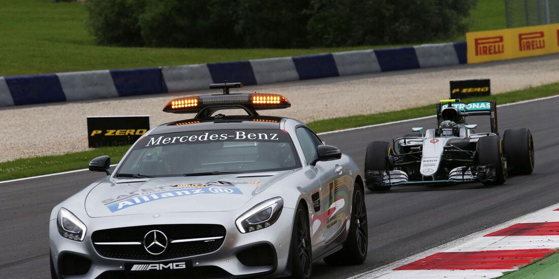 Safety Car - Formel 1 - GP Österreich - 3. Juli 2016