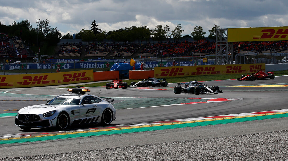 Safety-Car - Formel 1 - GP Spanien 2018