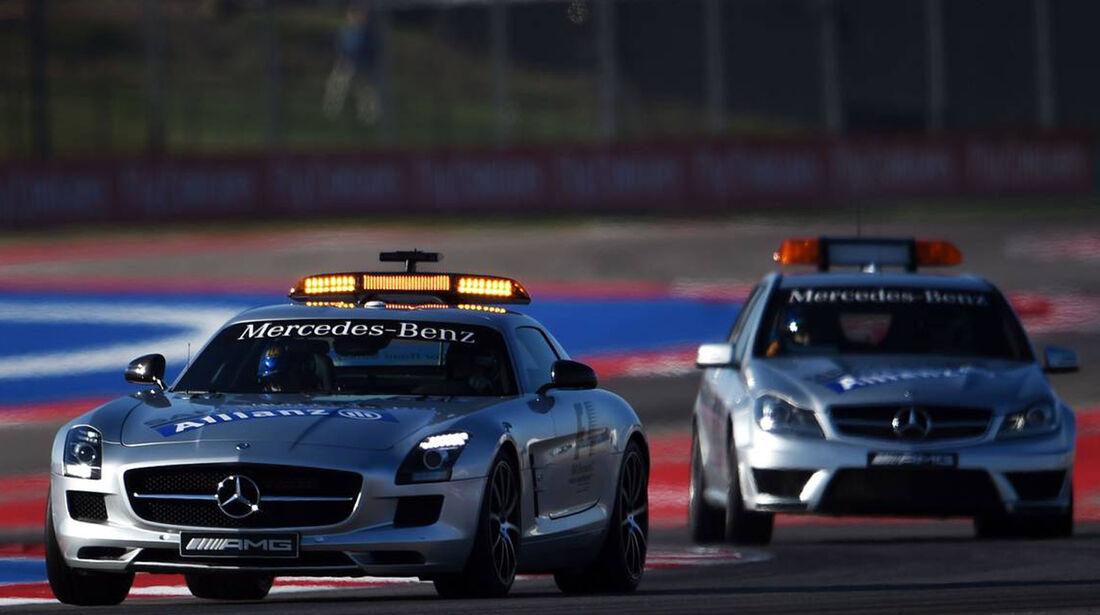 Safety Car - Formel 1 - GP USA - 1. November 2014