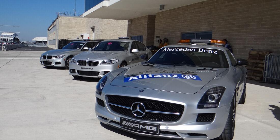 Safety-Car - Formel 1 - GP USA - Austin - 16. November 2012