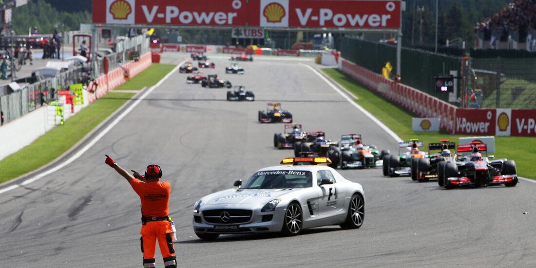 Safety-Car - GP Belgien 2012