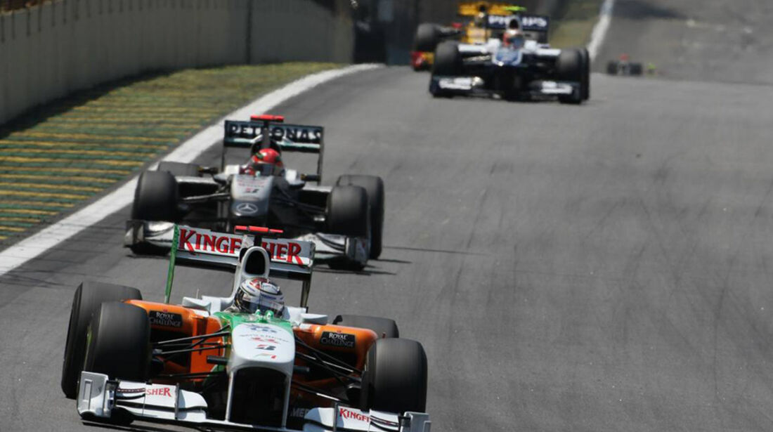 Safety-Car GP Brasilien 2010