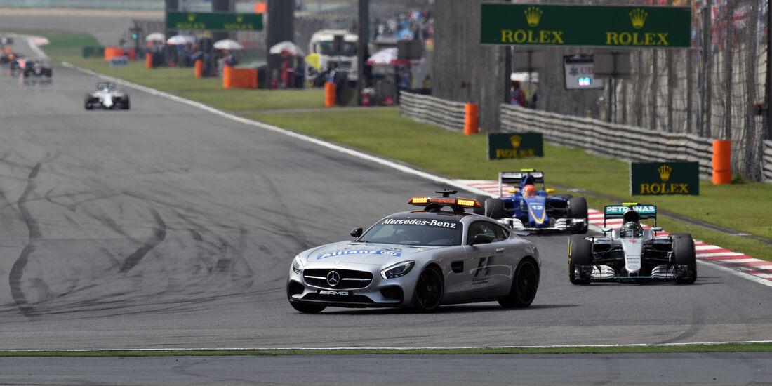 Safety Car - GP China 2016 - Shanghai - Rennen
