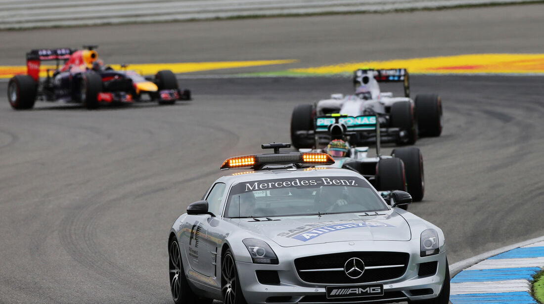 Safety-Car - GP Deutschland 2014