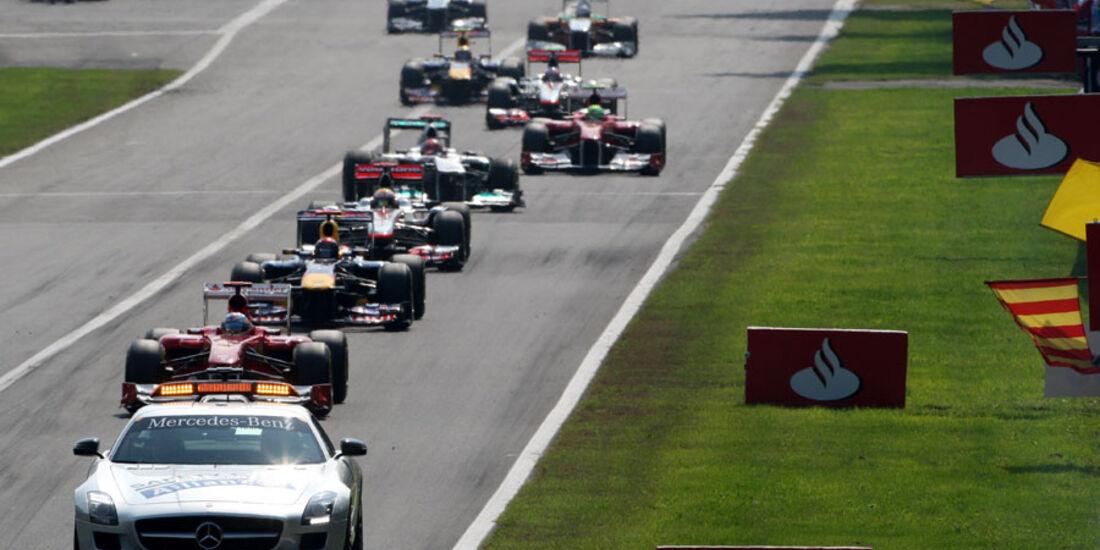 Safety-Car GP Italien Monza 2011