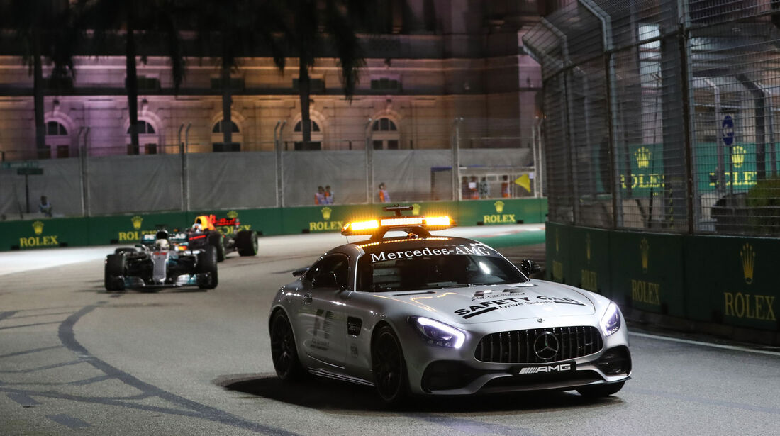 Safety Car - GP Singapur 2017 - Rennen