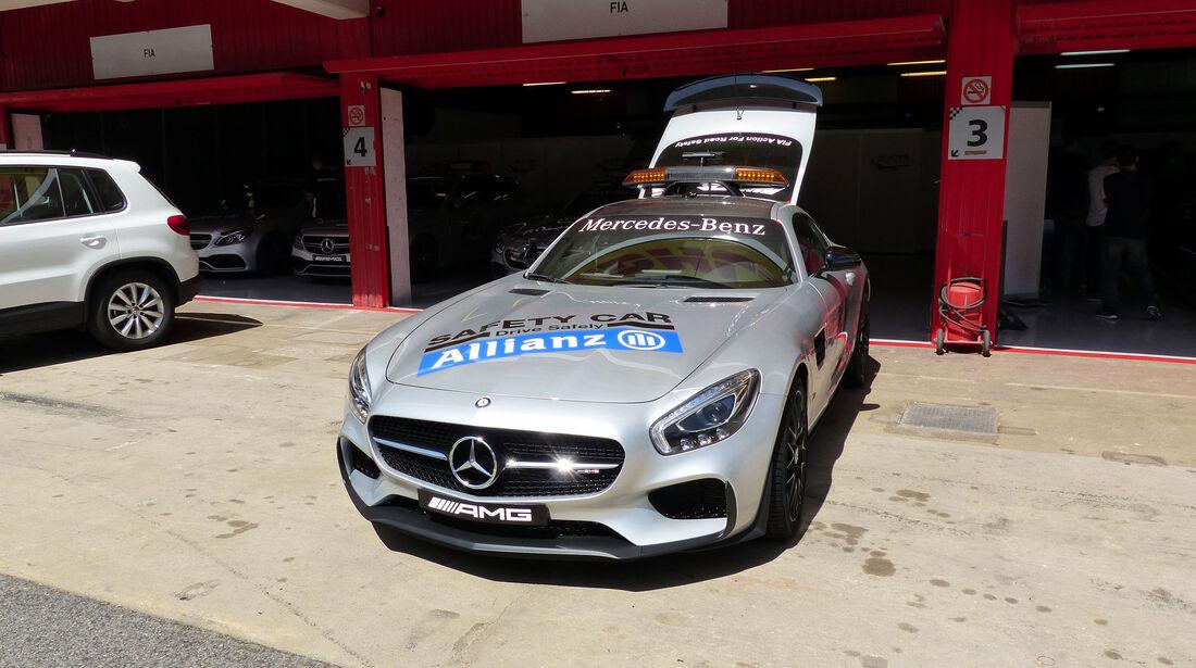 Safety Car - GP Spanien - Barcelona - Donnerstag - 7.5.2015