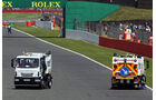 Safety-Car-Phase - Reifenschaden GP England 2013