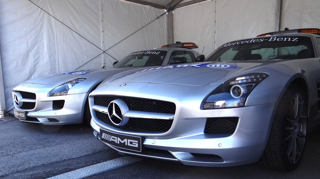Safety-Cars - Formel 1 - GP Kanada - 7. Juni 2012