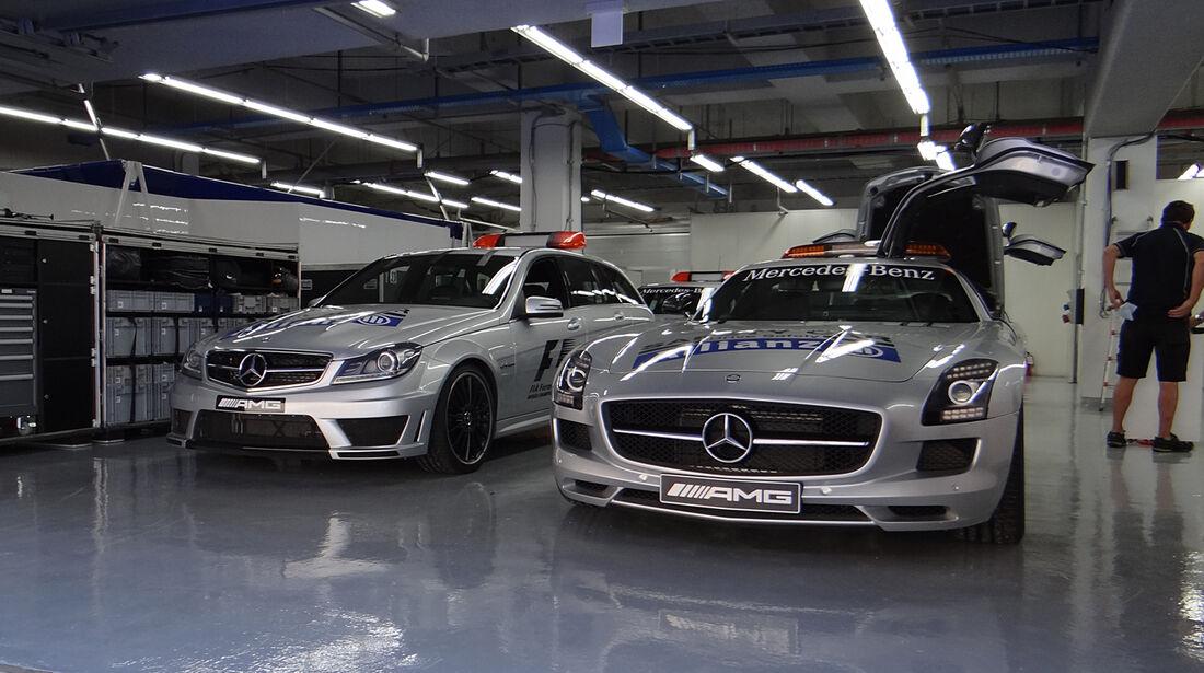Safety-Cars - Formel 1 - GP Korea - 2. Oktober 2013