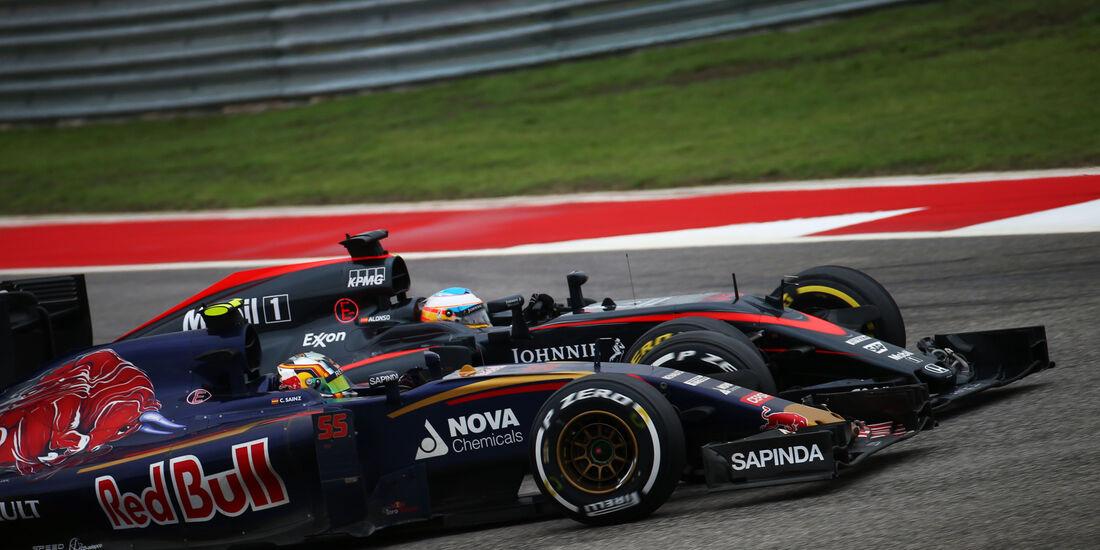 Sainz & Alonso - GP USA 2015