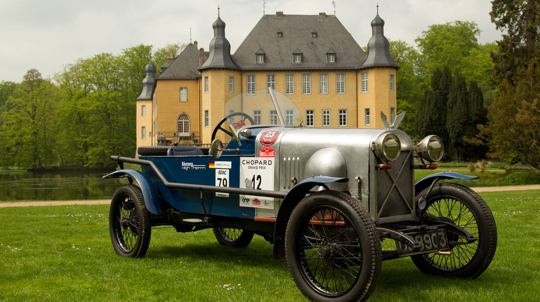 Salmson 9AD, Schloss Dyck