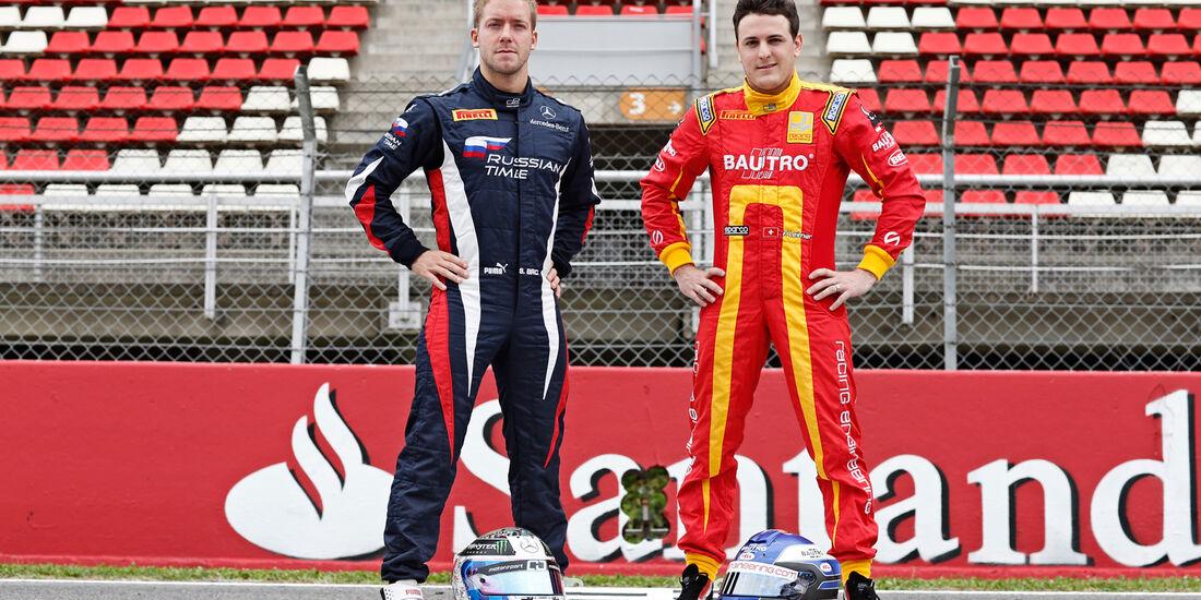 Sam Bird & Fabio Leimer - GP2 - 2013
