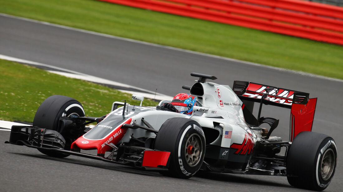 Santino Ferucci - HaasF1 - Silverstone-Test - 12- Juli 2016