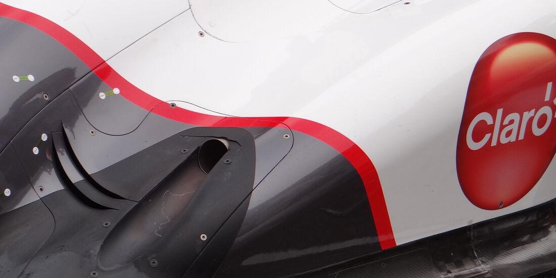 Sauber Auspuff GP Australien 2012