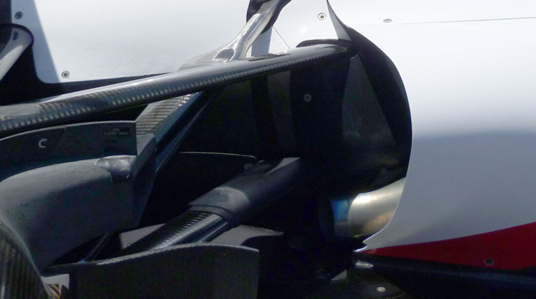 Sauber Auspuff GP Europa 2011