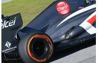 Sauber C32 Auspuff F1 2013