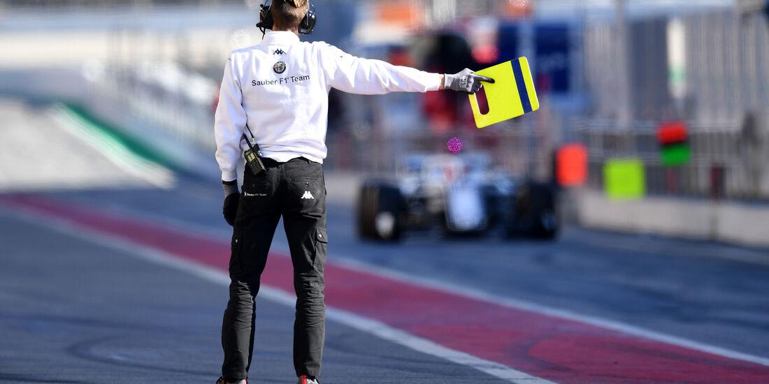 Sauber - F1-Test - Barcelona - Tag 5 - 6. März 2018
