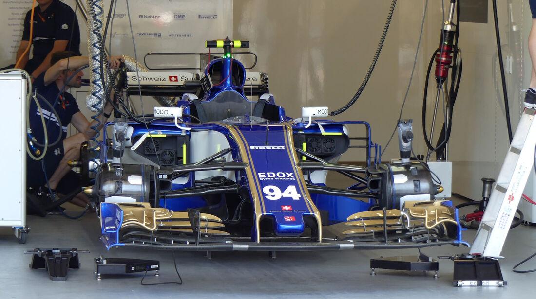 Sauber - Formel 1 - GP Aseerbaidschan 2017 - Training - Freitag - 23.6.2017