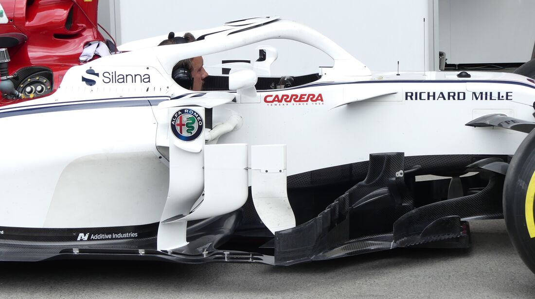 Sauber - Formel 1 - GP Aserbaidschan - 28. April 2018