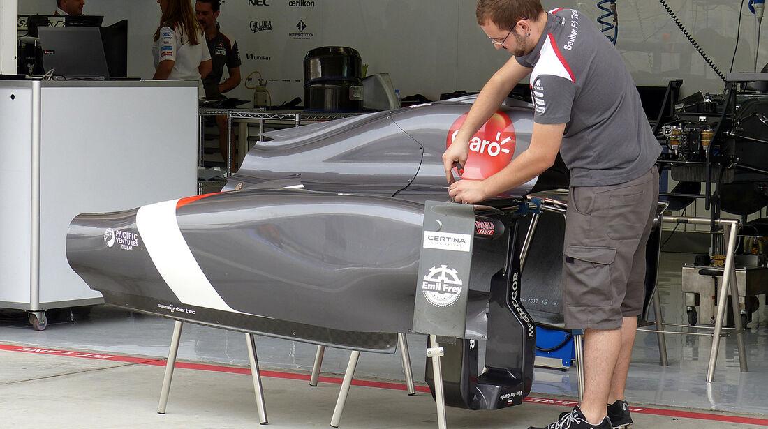Sauber - Formel 1 - GP Bahrain - Sakhir - 3. April 2014
