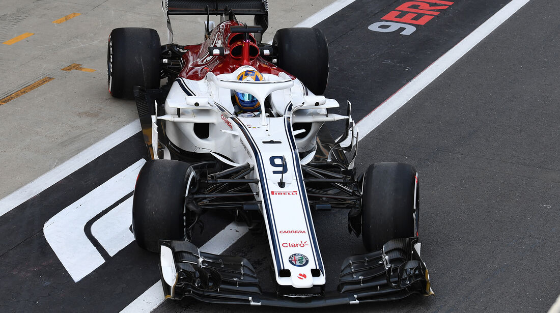 Sauber - Formel 1 - GP England 2018