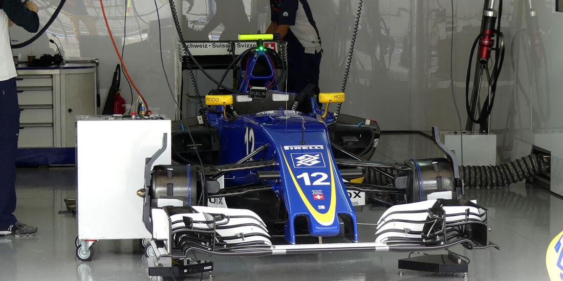 Sauber - Formel 1 - GP Japan - Suzuka - Freitag - 7.10.2016