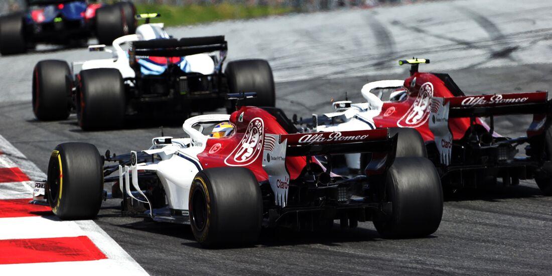 Sauber - Formel 1 - GP Österreich - 1. Juli 2018