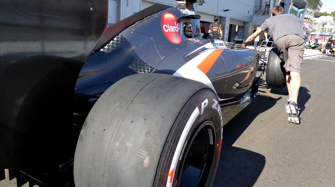 Sauber - Formel 1 - GP Russland - Sochi - 9. Oktober 2014
