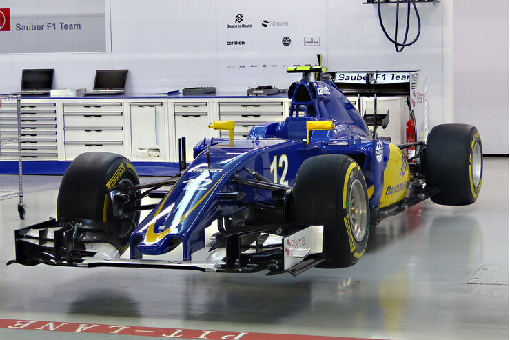 sauber c35 f r die formel 1 saison 2016 auto motor und sport. Black Bedroom Furniture Sets. Home Design Ideas