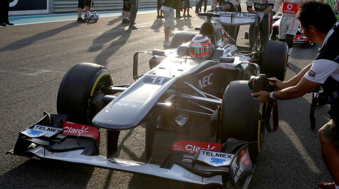 Sauber - GP Abu Dhabi 2013