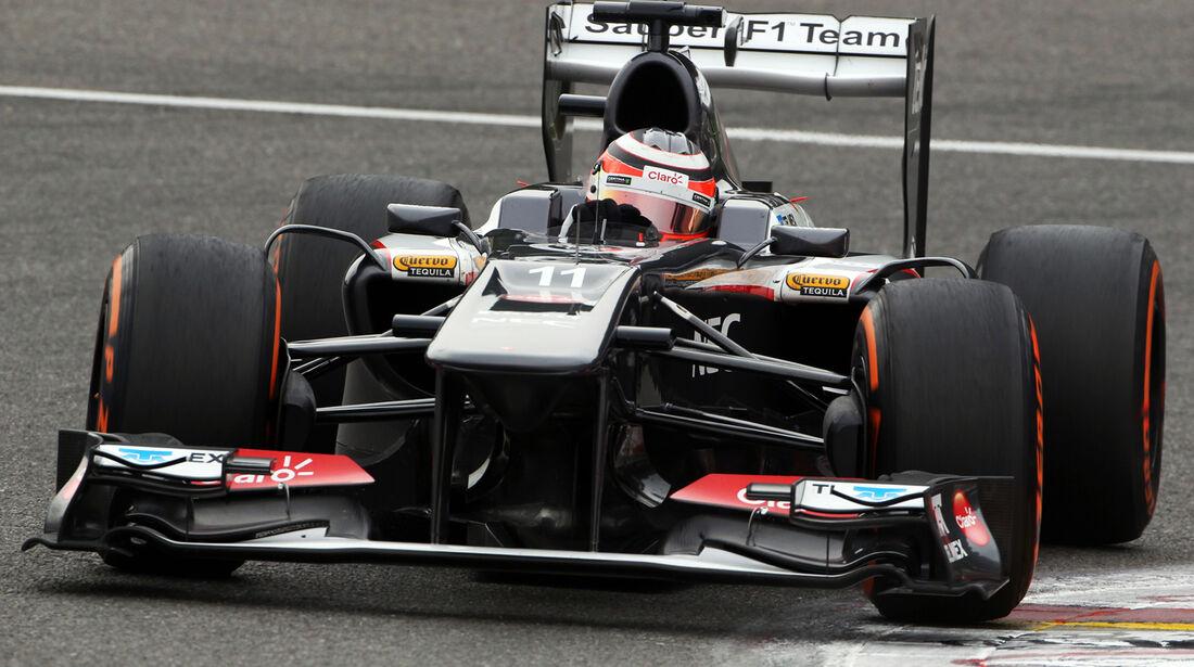 Sauber - GP Belgien 2013