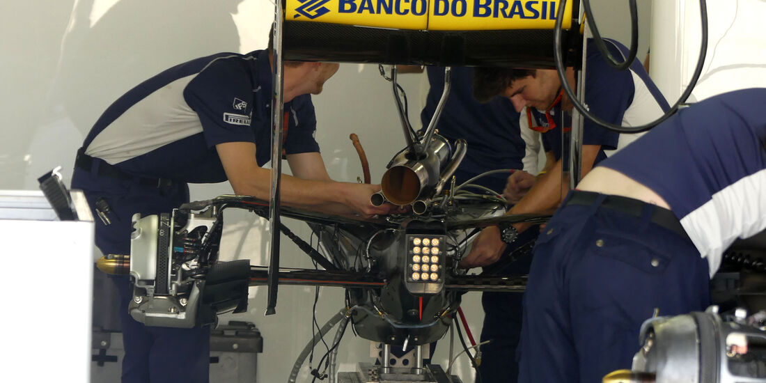 Sauber - GP Brasilien - Sao Paulo - Interlagos - Donnerstag - 10.11.2016