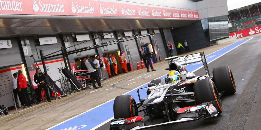 Sauber - GP England 2013