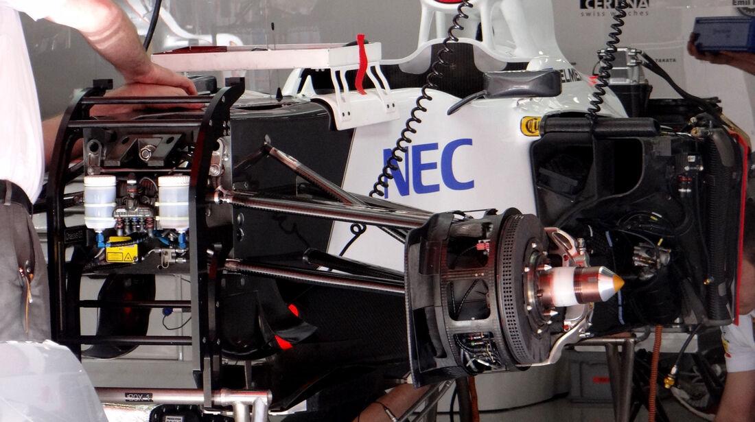 Sauber - GP Spanien - 10. Mai 2012