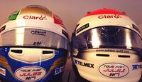 Sauber-Helme - Jules Bianchi - GP Russland 2014