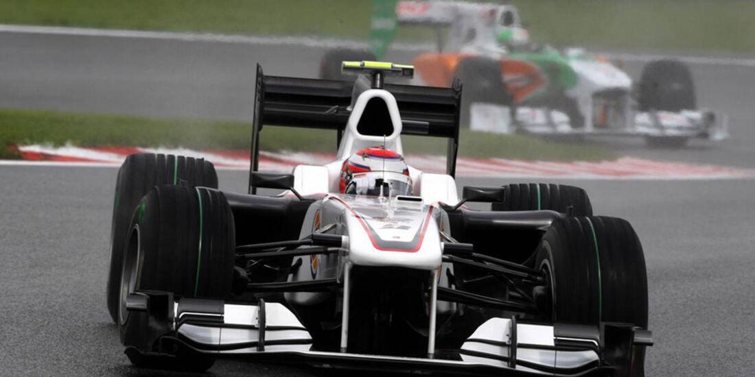 Sauber beim GP Belgien 2010