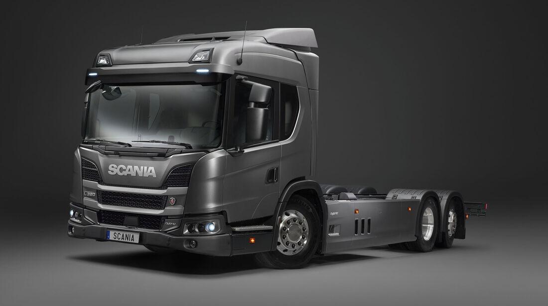 Scania L 320 Plugin-Hybrid Truck
