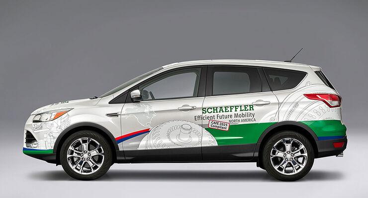 Schaeffler Konzeptfahrzeug CAFE 2015