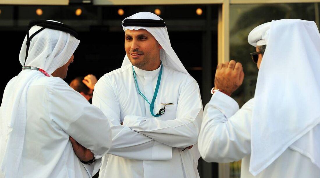 Scheichs - Formel 1 - GP Abu Dhabi - 01. November 2012