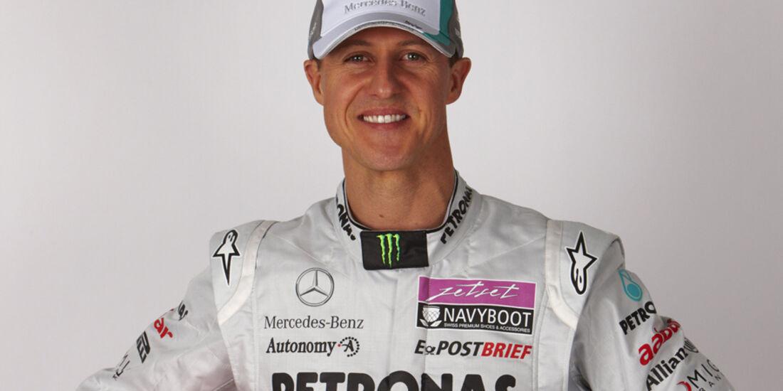 Schumacher Porträt 2011