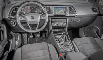 seat ateca 1 4 tsi im test auto motor und sport. Black Bedroom Furniture Sets. Home Design Ideas